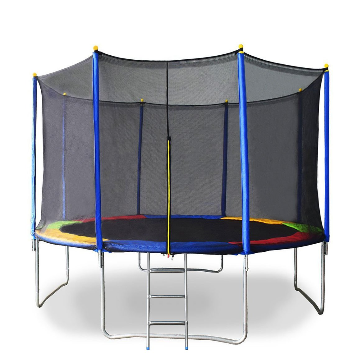 Airzone 14 Spring Trampoline And Enclosure Set: Trampolines : Online Shopping For Clothing, Shoes, Jewelry