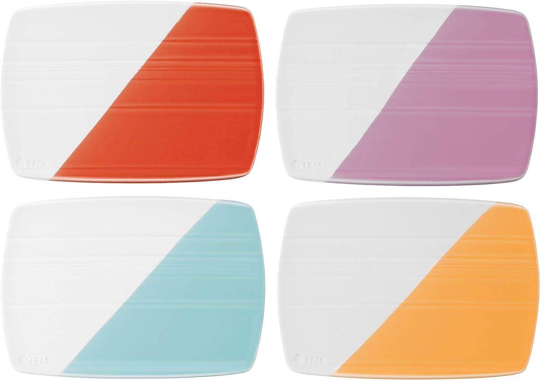Tabla para queso 20 cm, 4 unidades moderno 20 cm multicolor Royal Doulton