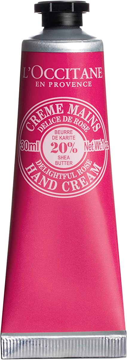 L'occitane Shea Rose Hand Cream 30ml Tube (With images