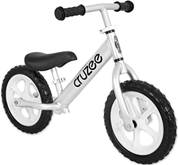 Cruzee Silver Ultralight Balance Bike 1 9 Kg From 1 5 To 5
