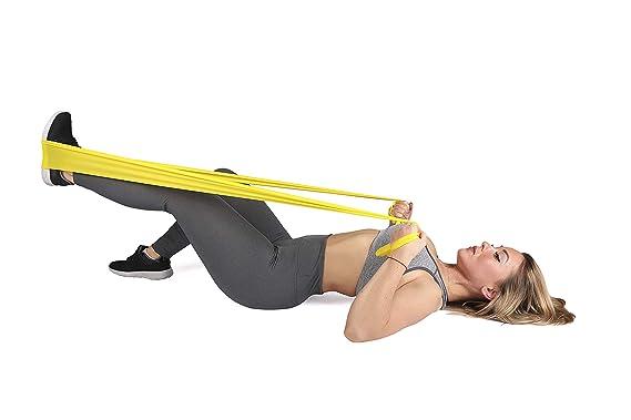 Fisioterapia Pilates Yoga Gimnasia y Crossfit | - Banda elástica de Bandas de Resistencia: Amazon.es: Deportes y aire libre