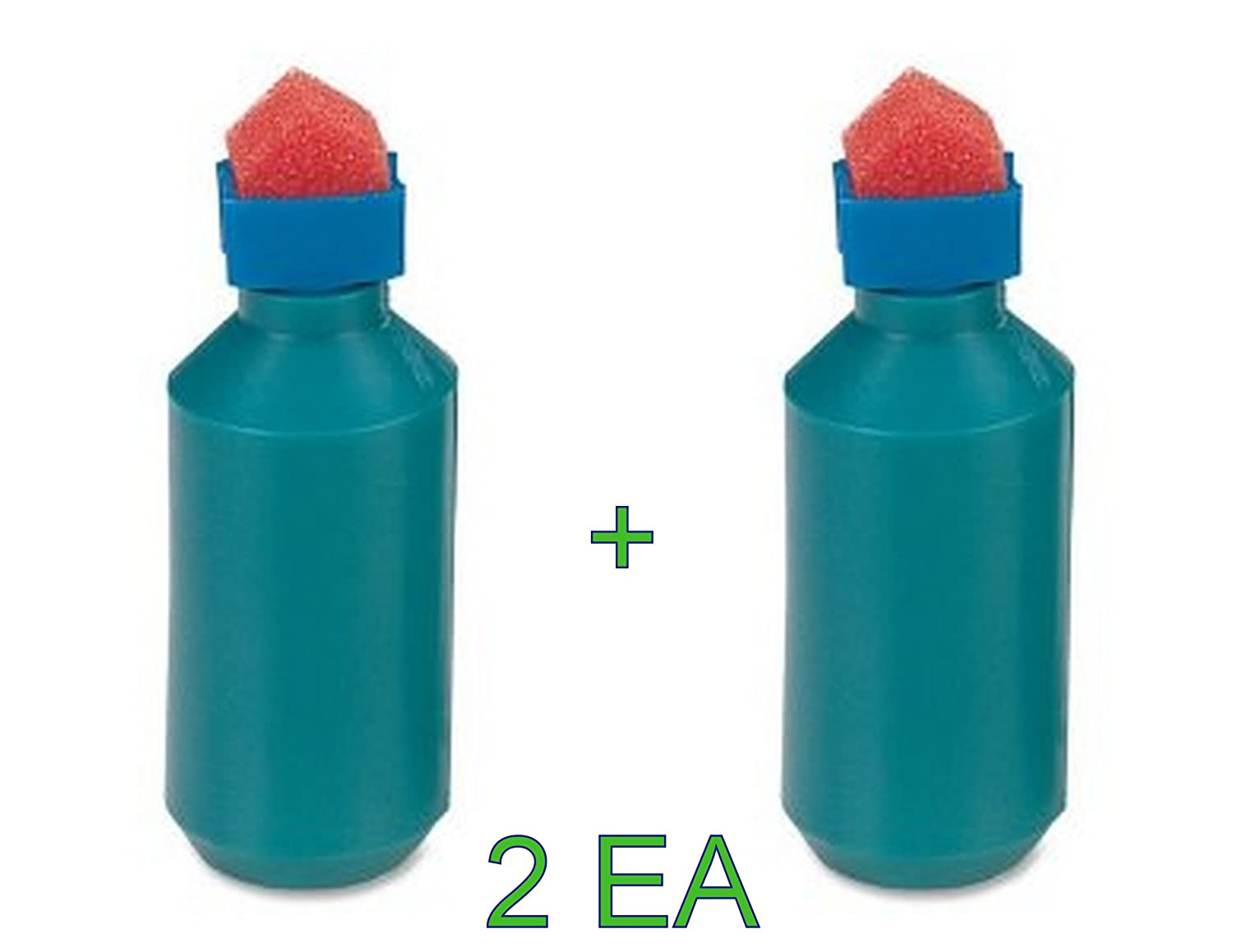 2 Each Sparco Envelope Moistener, Bottle Type, Sponge Tipped (SPR01483) FBA_01483x2