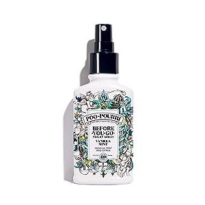 Poo~Pourri Before-You-Go Toilet Spray 4 oz Bottle, Vanilla Mint Scent