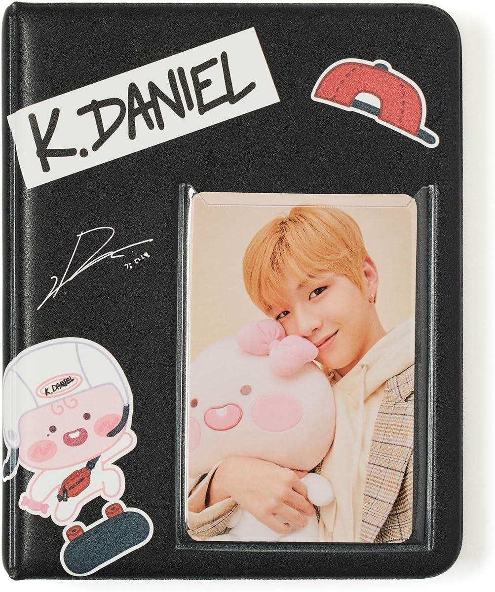 KAKAO FRIENDS Official Apeach KangDaniel Edition Photo Card Collecting Scrap Book Pink