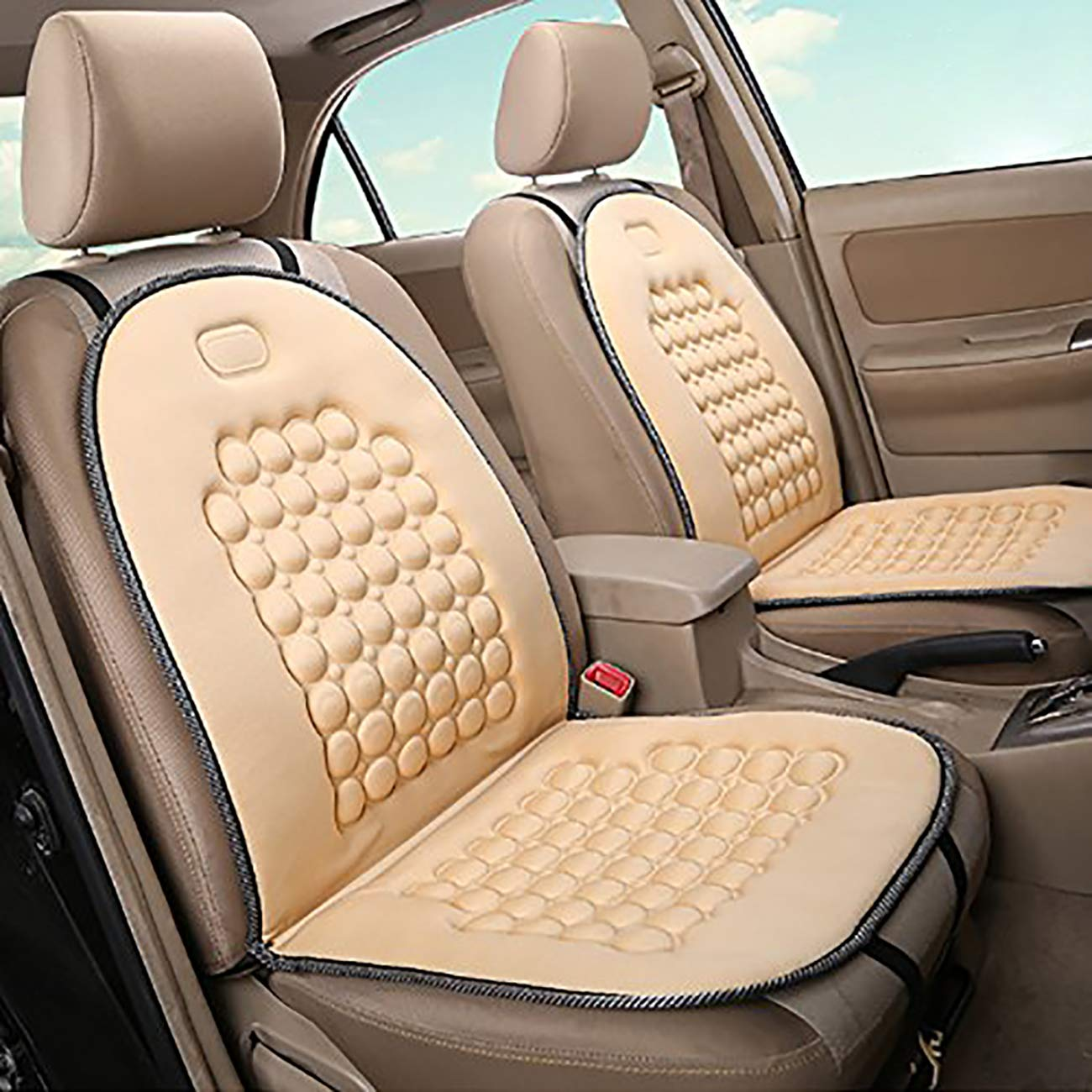 UHeng 2 PCS Car Seat Protector Cushion Cover Pad Mat Breathable for Auto
