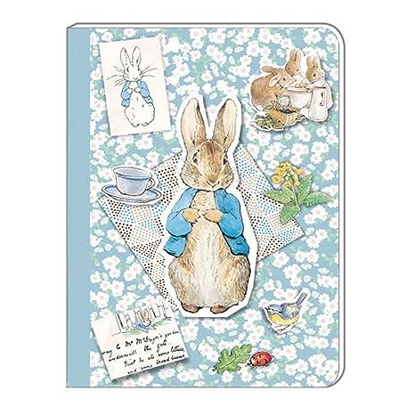 Amazon.com: Luck Peter Rabbit A5 Soft Cover Notebook Beatrix ...