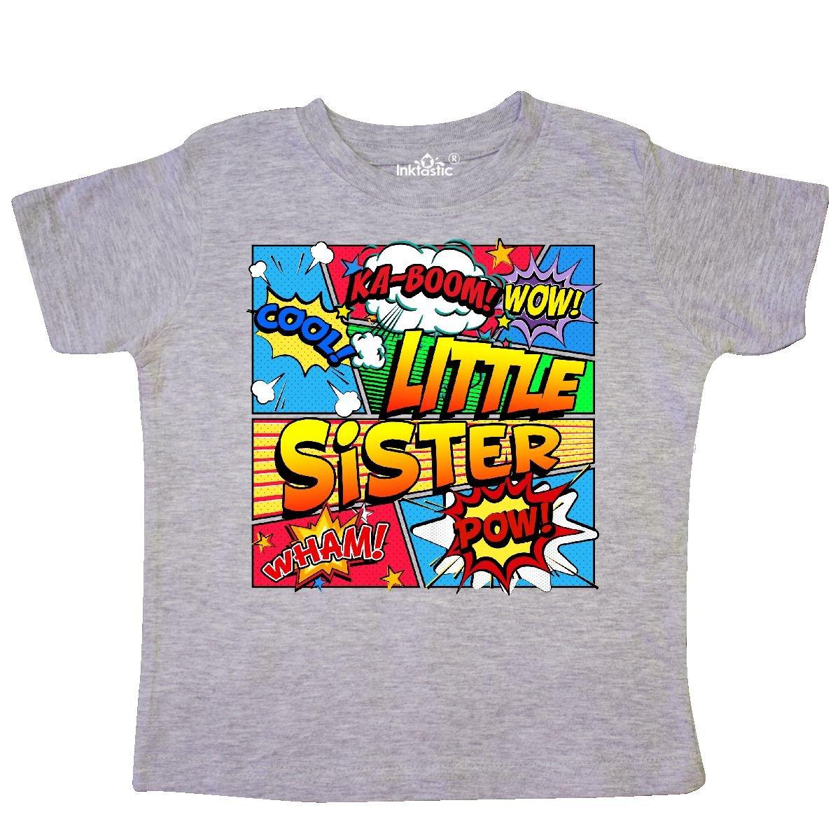 inktastic Little Sister Comic Book Toddler T-Shirt