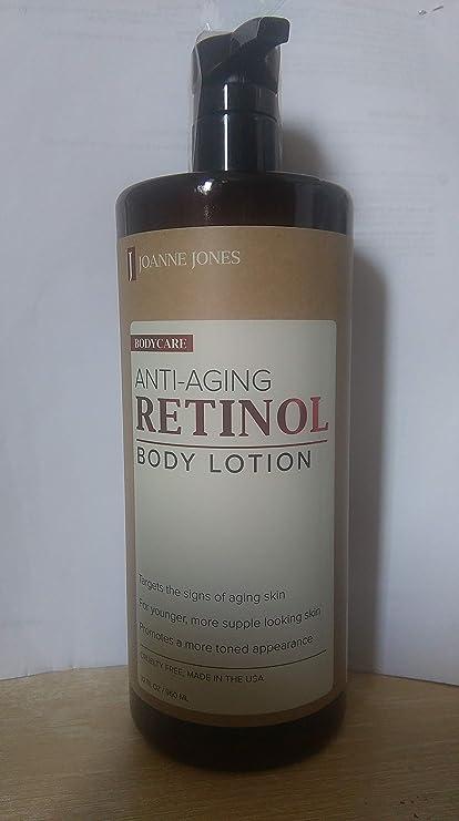 Joanne Jones Anti Aging Retinol Body Lotion 950ml Amazon Co Uk Beauty