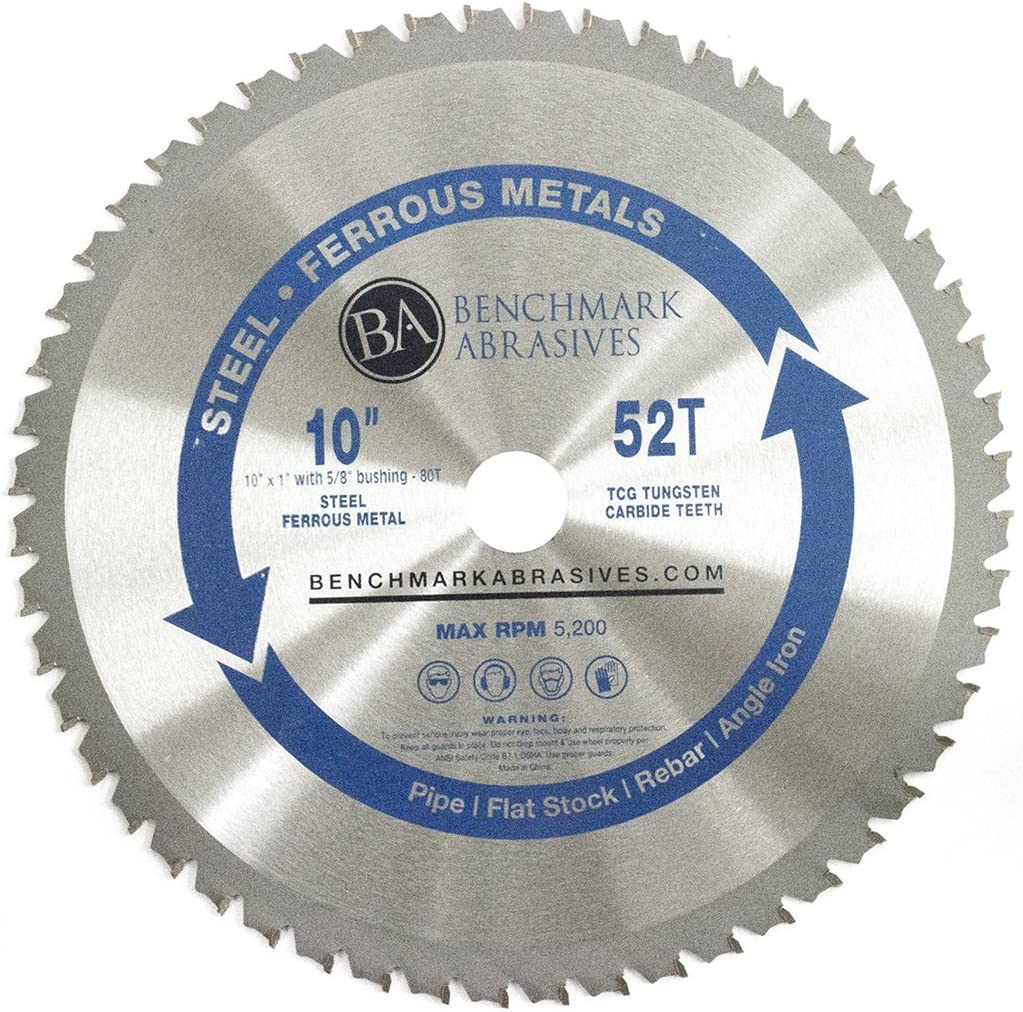 10 Inch TCT Blade For Thin Steel And Ferrous Metals