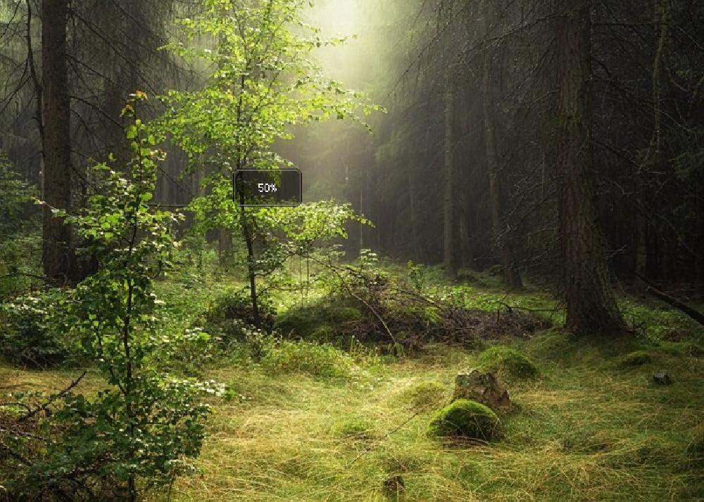 Naturaleza Bosque Neblina Luz Productos Lácteos Árbol Blanco Hierba Verde 1000 Rompecabezas Rompecabezas Educativo para Niños Rompecabezas De Descompresión para Adultos