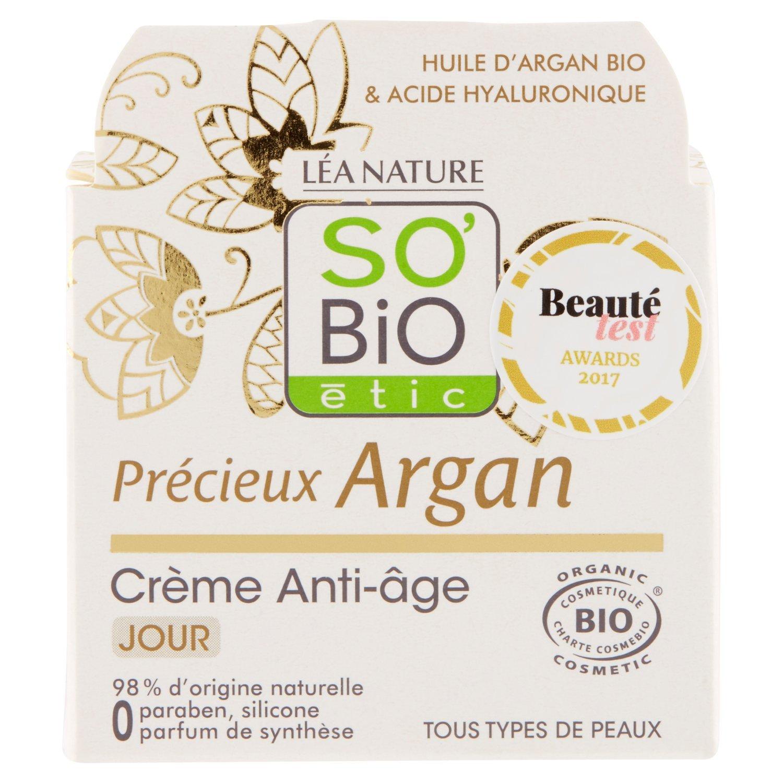 SO'BiO étic Précieux Argan Crème de Jour Anti-Age SO' BiO étic