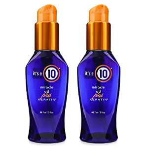 It's a 10 Haircare Miracle Oil plus Keratin, 3 fl. oz. (Pack of 2)