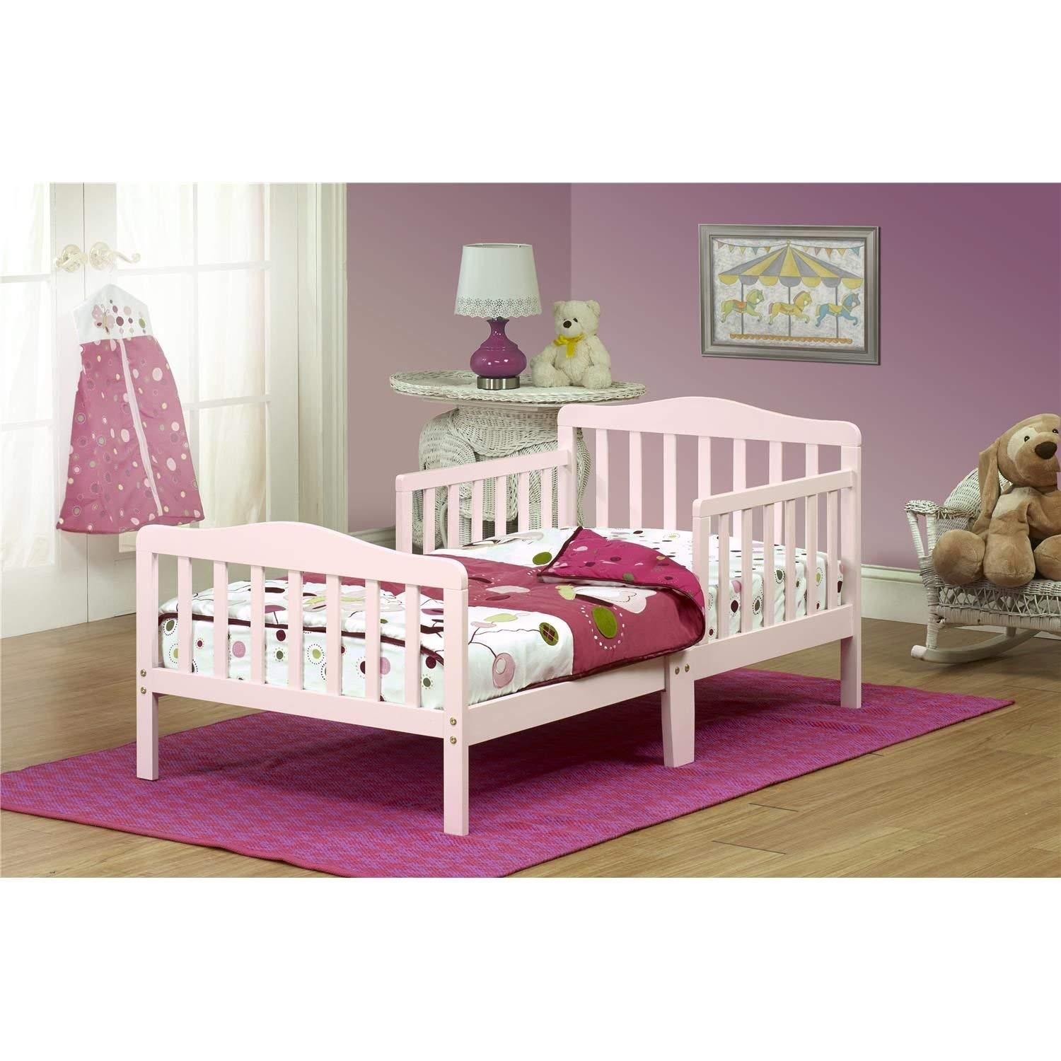 Orbelle 3-6T Toddler Bed, Pink by Orbelle