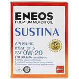 エネオス プレミアムオイル サスティナ 0W-20 4L缶 ENEOS SUSTINA