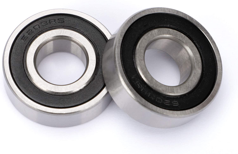 yxt 6203-2RS Sealed Bearings Replace Troy-Bilt MTD 741-0600 941-0600 741-0124 941-0124 John Deere GX20818 JD8535 Murray 12325MA 1255MA 1501389MA Toro 100-1048 38-7820