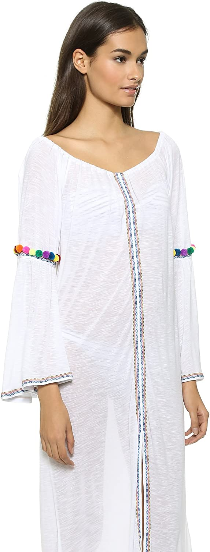 Amazon.com: Pitusa de mujer Maxi vestido gitana, talla única ...