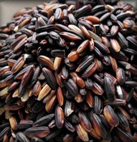Imported Rice Black Thai Rice (Purple Sticky)   2 Pounds by Yankeetraders