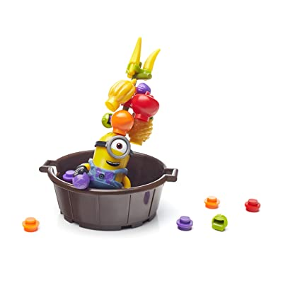 Mega Bloks Despicable Me Fun Jelly Jiggle: Toys & Games