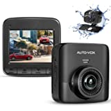 AUTO-VOX D5PRO Dual Dash Cam Front and Rear, 1520P Car Dashboard Camera Recorder, Built-in Super Capacitor,Two Ways…