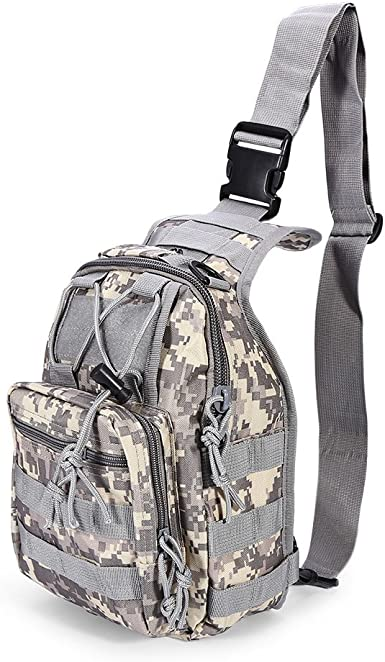 Messenger Bag Tactical Backpack Crossbody Bag Camping Travel Hiking Trekking Backpack