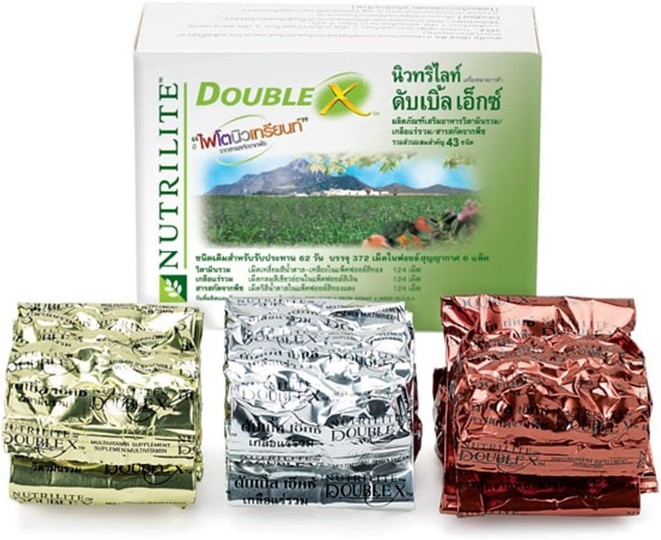 Nutrilite Double X Multivitamin/multimineral/phytonutrient -372 Tablets (62-day Supply)