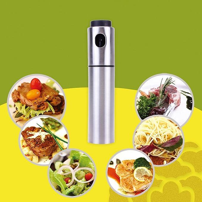 TankerStreet Aceite Aceite para Cocina Aceite vinagre Barbacoa Oil Sprayer - 100 ML: Amazon.es: Hogar