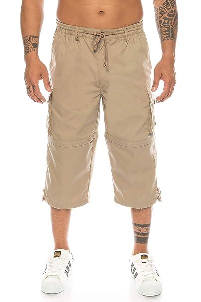 1cfb24941f89f7 Kendindza Herren Bermuda | abnehmbare Beine Zipp-Off von 3/4 in Kurze Hose
