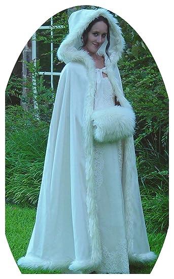 9f8ad635b ShineGown Hooded Winter Bridal Cloak for Wedding Dresses Fur Warm ...