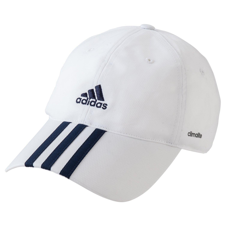 adidas Clima365 3S ClimaLite Cap weißblau Size:OSFM: Amazon