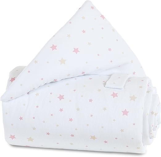Multicolor Talla /única Babybay Babynest para Midi//Mini Blanco Starmix Sand//Berry Tela