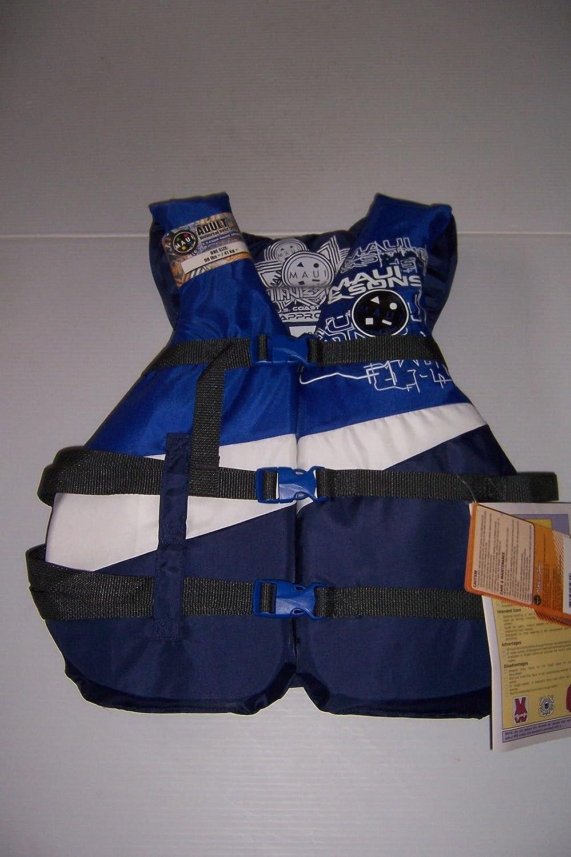 数量限定セール  Maui & Sonsユニバーサル大人用ライフジャケットベストブルータイプIII PFDサイズ30 B00JU97AW8 – 52