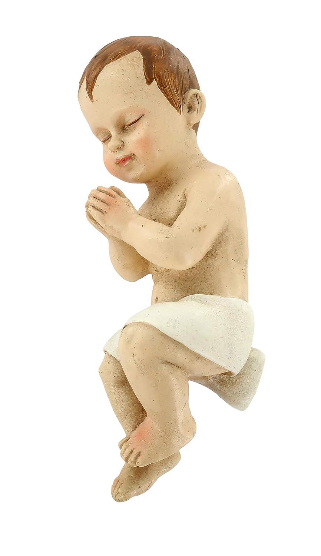 Ges/ù Bambino nella Culla Linea Martino Landi per presepio da cm 50 Ferrari /& Arrighetti Statue presepe