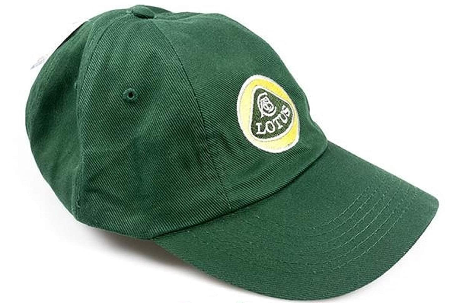 Cap LBC 01 Formula One 1 Team Lotus F1 Unstructured Roundel Yellow /& Green US
