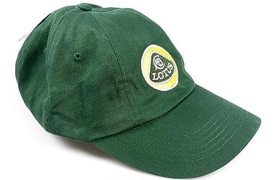 Gorras del equipo de fórmula 1 Lotus en color amarillo y verde ...