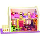 Generic 34 Pcs Mamma Mia Deluxe Doll House For Kids