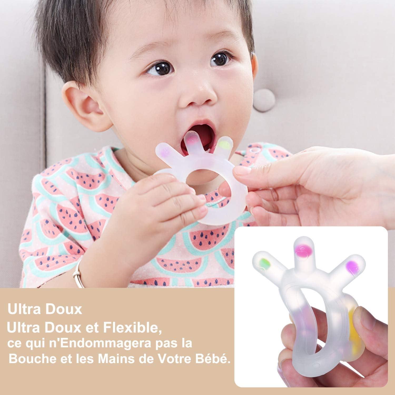 Jouets de dentition pour b/éb/é anneaux de dentition en silicone
