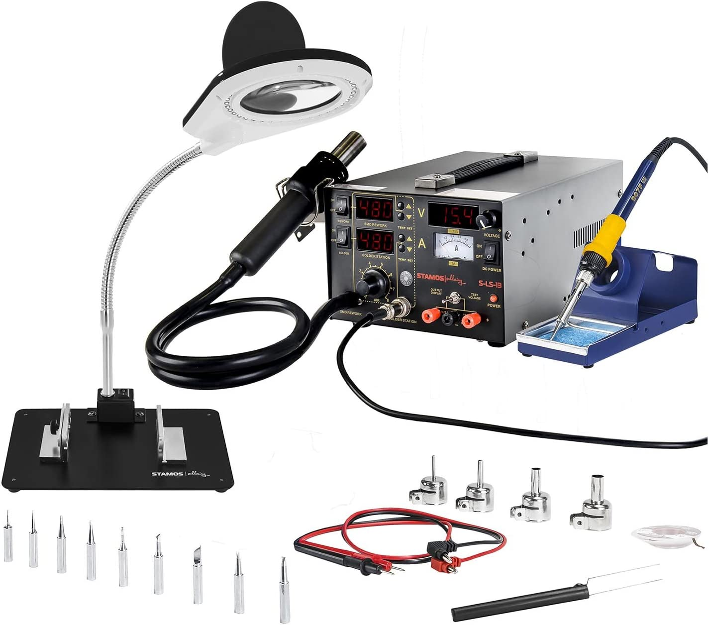 /LED- spedizione gratis Stamos Soldering/ /SMD/ /75/W/ /Stazione di saldatura/ /S-LS-6/Basic/