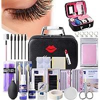 22PCS Eyelash Grafting Set Eyelash Extension For Starter Use Grafting Set Eyelashes,Lash Starter Kit, Eyelashes…