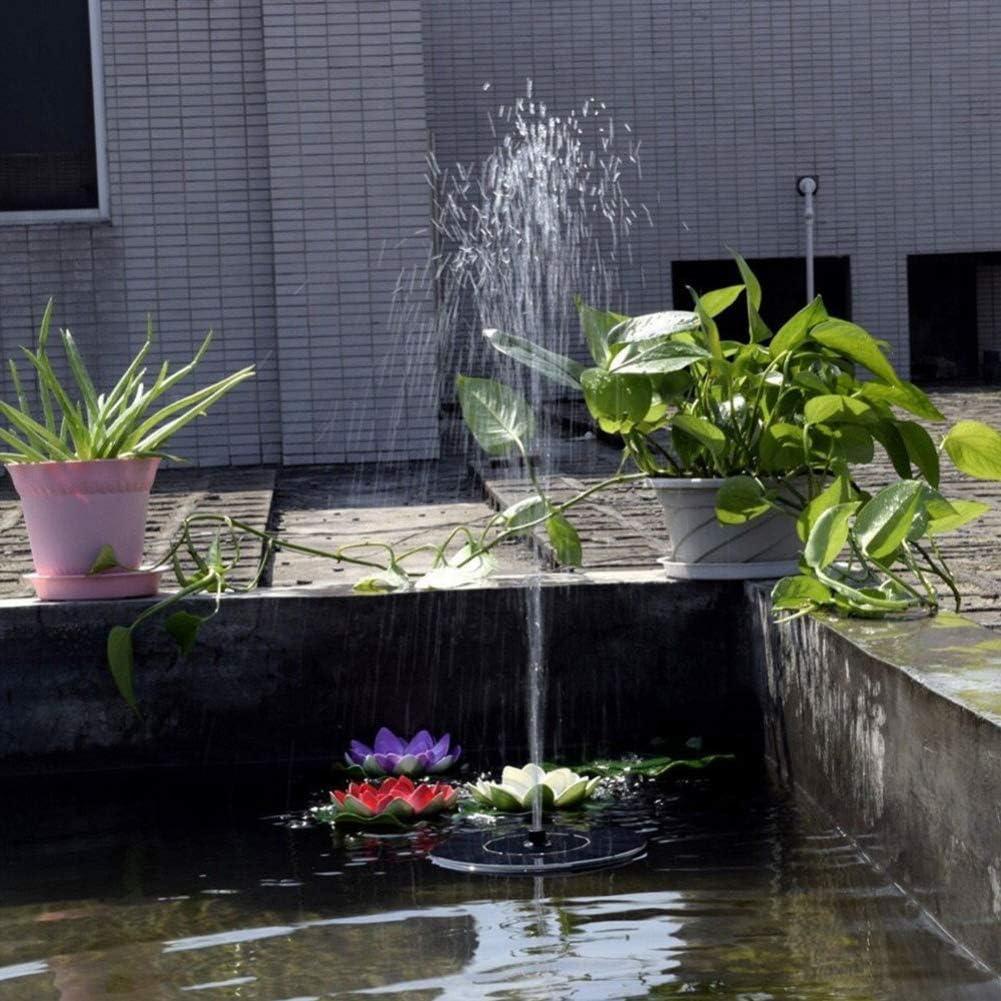 BonTime Solar Floating Fountain Pump Bird Bath Garden Decor Outdoor 1.4W Pond Solar Water Fountain