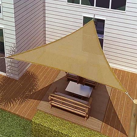 Amazon Com Sunshade 16 Ft Triangle Sun Sail Shade Cover Garden Outdoor