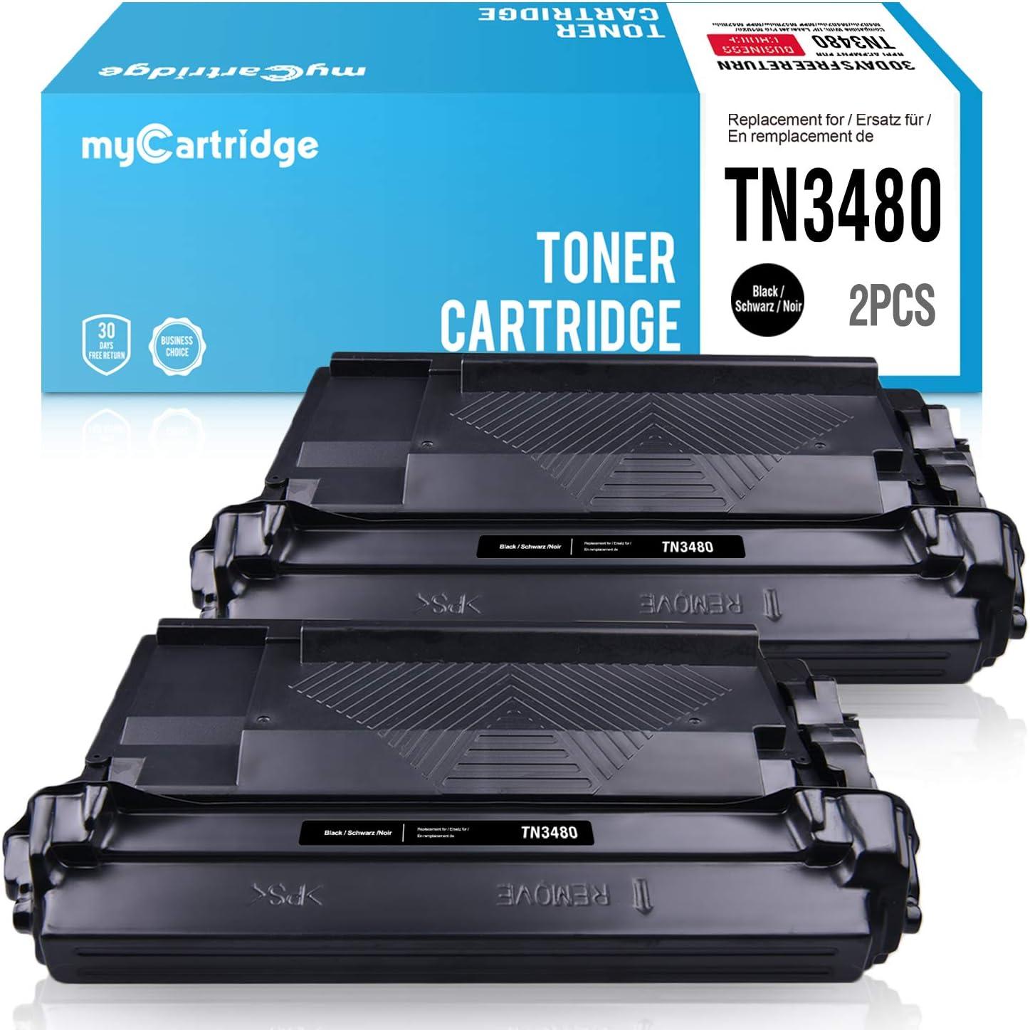 LEMERO Cartuccia di toner Compatibile per TN-3480 TN3480 per Brother HL-L5000D HL-L5100DN HL-L5200DW HL-L5200DWT HL-L6200DW HL-L6200DWT HL-L6250DW HL-L6300DW HL-L6400DW DCP-L5500DN MFC-L6800DW
