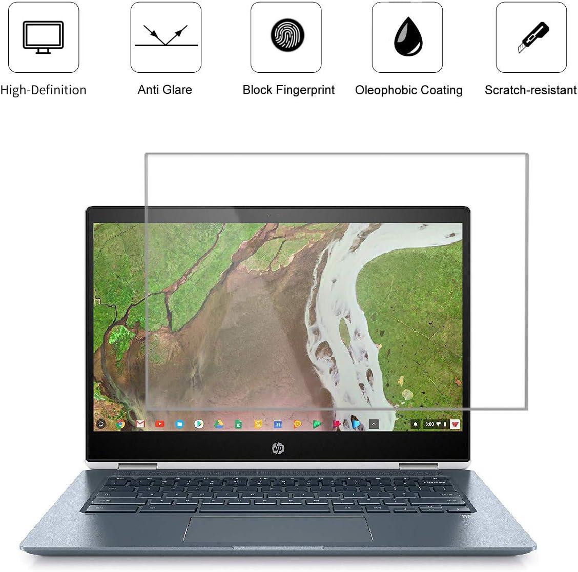 "(2 Pack) 14 Inch Screen Protector for HP Pavilion 14 |ChromeBook 14 |Stream 14, Lenovo Flex 14, Dell Insprion 14, Acer Chromebook 14, Lg Gram 14"", Anti Glare and Anti Fingerprint (Matte) Shield"