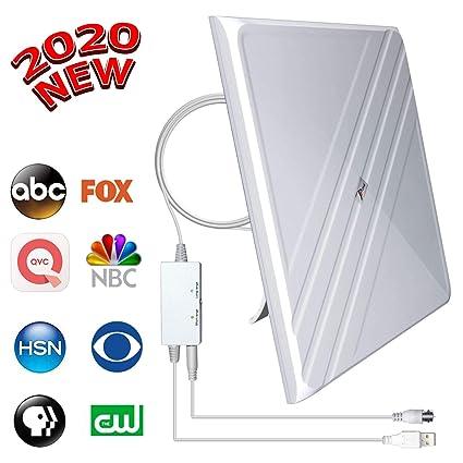 Best Attic Antenna 2020.2020 Upgraded Amplified Hd Digital Tv Antenna Best 120 Miles Range Indoor Antenna Tv Digital Hd Amplifier Signal Booster Support All Tv S