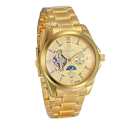 ae0c3688d68a JewelryWe - Reloj de Pulsera para Hombre