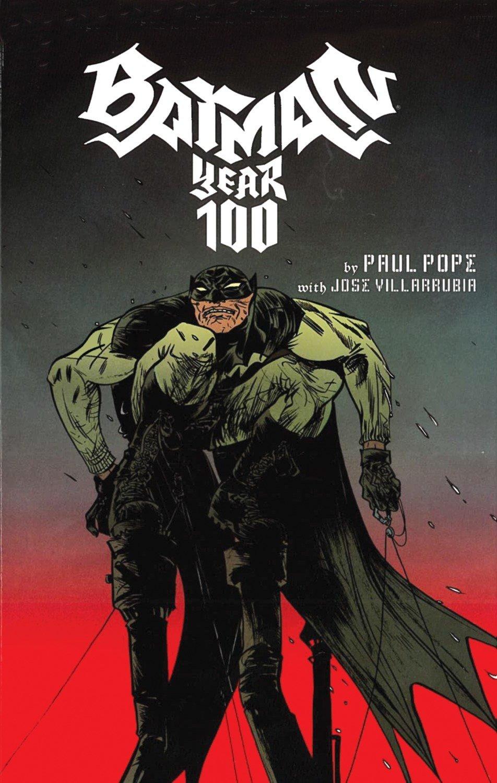 1st Print Paul Pope  Brand New Batman:Year 100 One Hundred Graphic Novel-tpb