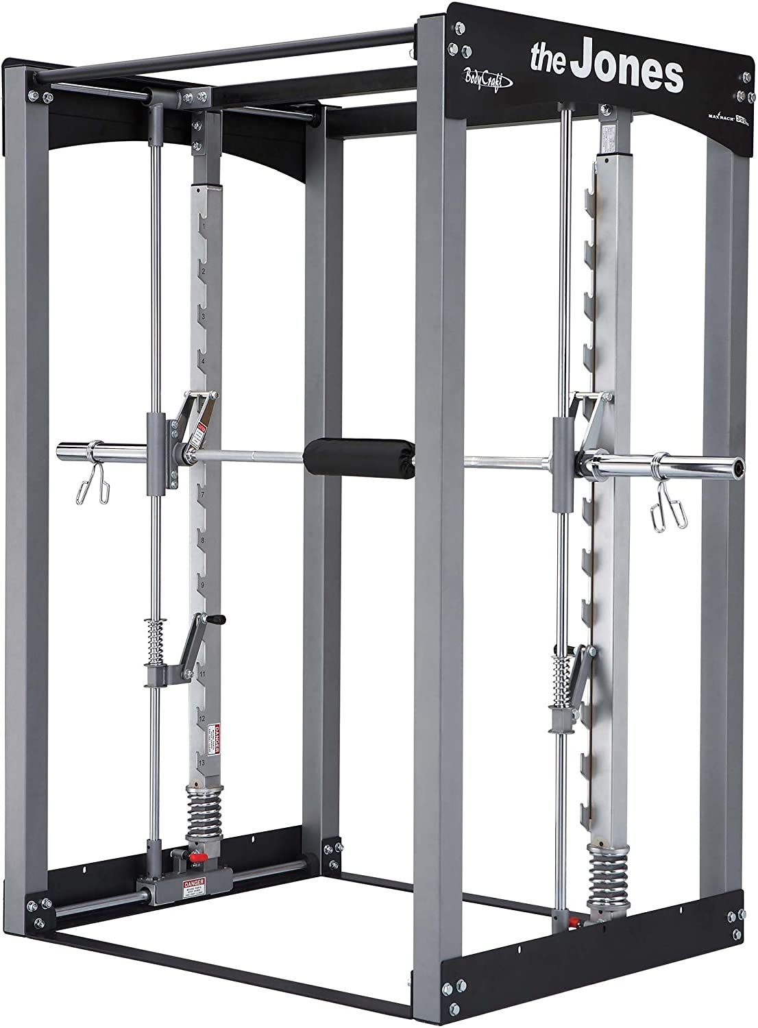 Bodycraft Jones máquina Club con 7 ft Power Bar: Amazon.es: Deportes y aire libre