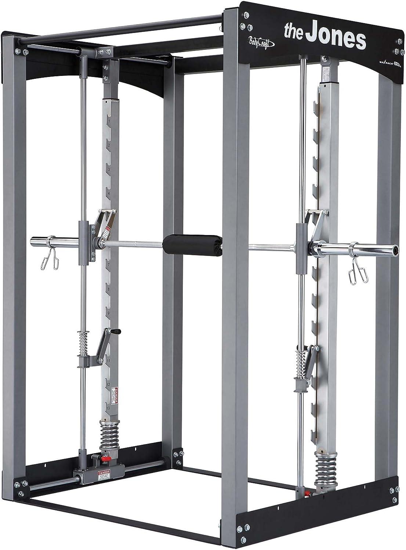 Bodycraft Jones máquina Club con 7 ft Power Bar: Amazon.es: Deportes y aire  libre