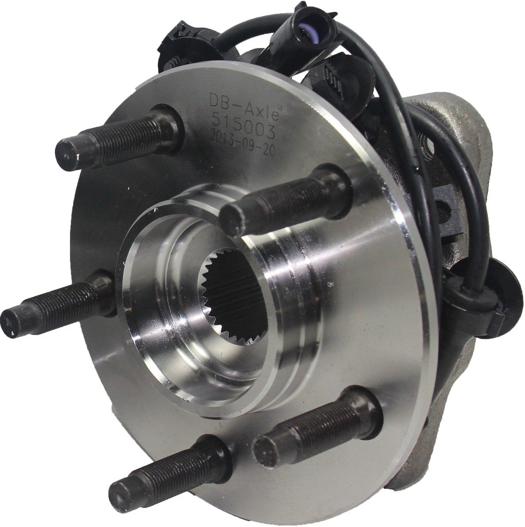 Detroit Axle - Front Driver or Passenger Side Wheel Hub & Bearing Assembly w/ABS for 03-09 Ford Ranger - [03-09 Mazda B2300] - 03-09 B4000 - [03-10 B3000] - 03-05 Explorer Sport Trac - [4WD/4x4 ONLY] by Detroit Axle