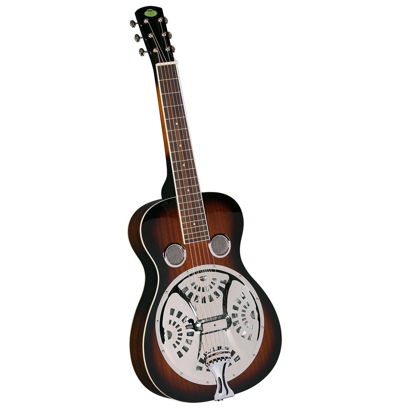 Regal RD-30TS Studio Series Squareneck Resophonic Guitar - Sunburst Mahogany