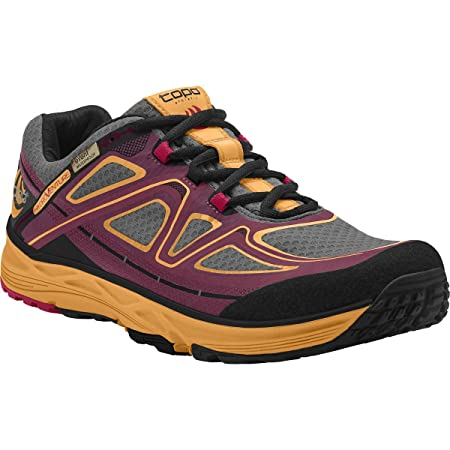 ace6c03330aa Topo Hydroventure Womens Low Drop   Wide Toe Box Trail Running Shoes  Burgundy Peach UK 4  Amazon.co.uk  Sports   Outdoors